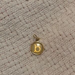 Alex and Ani lower case b charm